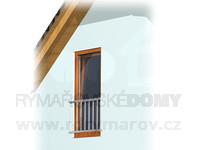 Francouzské okno (terasové dveře a zábradlí)