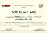 Ocenění domu pro rok 2006