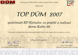 Ocenění domu pro rok 2007
